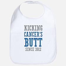 Cancers Butt Since 2012 Bib