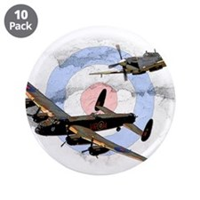 """Spitfire and Lancaster 3.5"""" Button (10 pack)"""