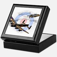 Spitfire and Lancaster Keepsake Box