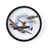 Avro lancaster Wall Clocks