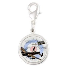 Spitfire and Lancaster Charms