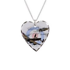 Spitfire and Lancaster Necklace