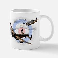 Spitfire and Lancaster Small Small Mug