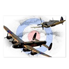 Spitfire and Lancaster Postcards (Package of 8)