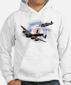 Spitfire and Lancaster Hoodie