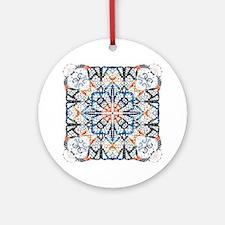 Cobblestone Crosstitch Spellbound Ornament (Round)