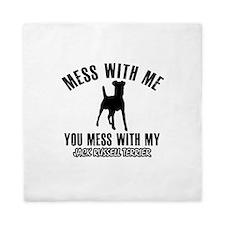 Jack Russell Terrier owner designs Queen Duvet