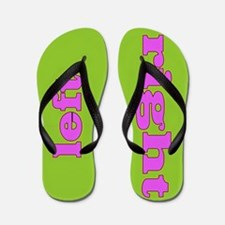 Left and Right Flip Flops