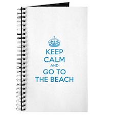 Keep calm and go to the beach Journal