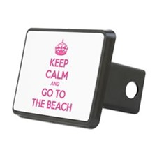 Keep calm and go to the beach Hitch Cover