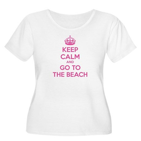 Keep calm and go to the beach Women's Plus Size Sc