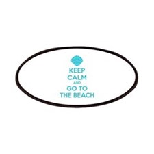 Keep calm and go to the beach Patches
