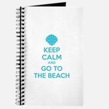 Keep calm and go to the beach Journal