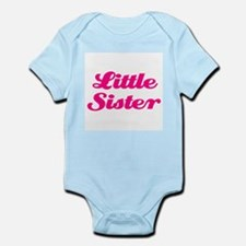 Little Sister (pink on pink) Infant Bodysuit