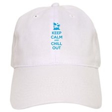 Keep calm and chill out Baseball Cap