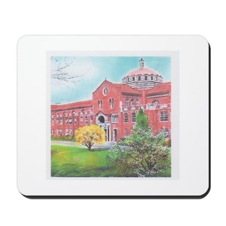School in color Mousepad