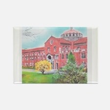 School in color Rectangle Magnet