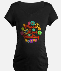 Peace Love Bowling T-Shirt