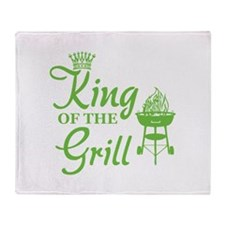 King of the grill Stadium Blanket