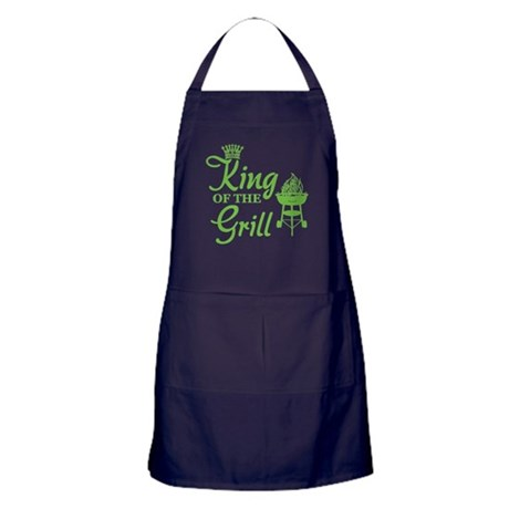 King of the grill Apron (dark)