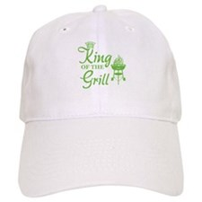 King of the grill Baseball Cap