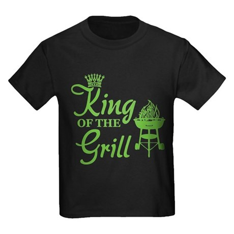 King of the grill Kids Dark T-Shirt