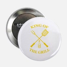 "King of the grill 2.25"" Button"