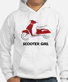 Scooter Girl (Red) Hoodie