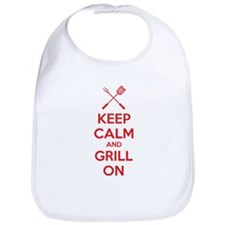 Keep calm and grill on Bib