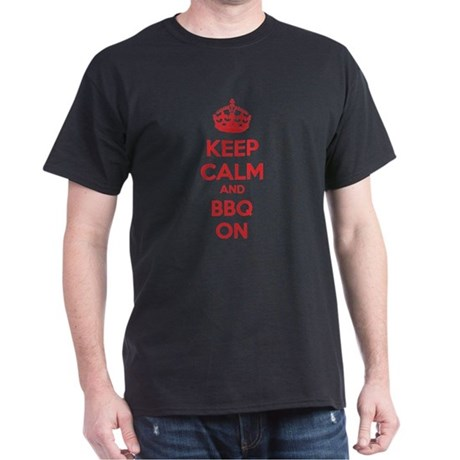 Keep calm and bbq on Dark T-Shirt