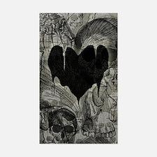Bleak Heart Sticker (Rectangle)