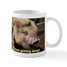 Just love getting dirty! Small Mug
