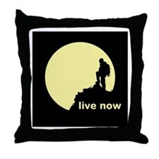 Live Now Throw Pillow