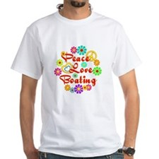Peace Love Boating Shirt