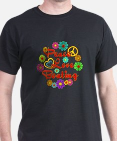 Peace Love Boating T-Shirt