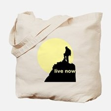 Live Now Tote Bag