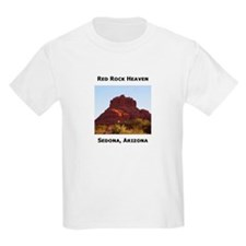 Sedona, Red Rock Heaven Kids T-Shirt
