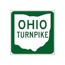 Ohio Turnpike Rectangle Sticker