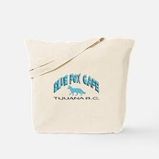 Blue Fox Cafe Tote Bag