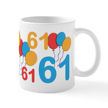 61 Years Old - 61st Birthday Mug