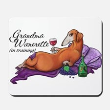 Wienerette in Training Mousepad