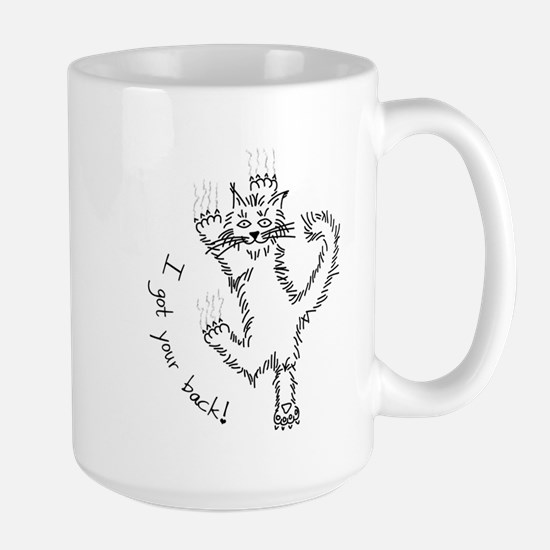 I got your back! - Large Mug