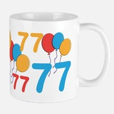 77 Years Old - 77th Birthday Small Mugs