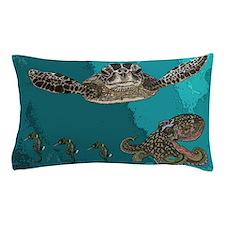 Sea creatures Pillow Case