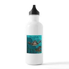 Sea creatures Water Bottle