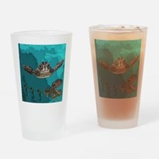 Sea creatures Drinking Glass