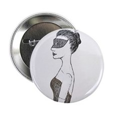 "Lady of the Masquerade 2.25"" Button"