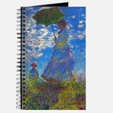 Monet - Woman with a Parasol Journal