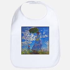Monet - Woman with a Parasol Bib