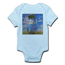 Monet - Woman with a Parasol Infant Bodysuit
